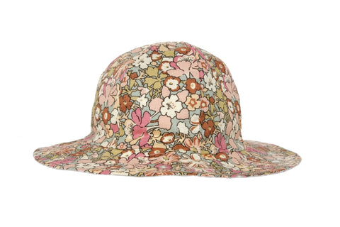 Hat / Girls - Vintage Floral - M0315