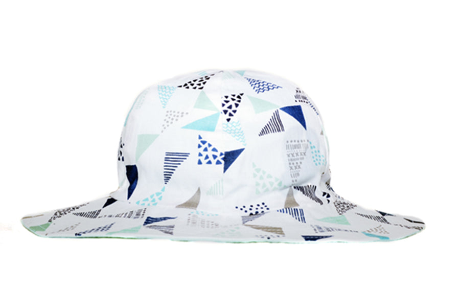 Hat / Boys - Aqua Sails - M0408