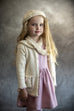 Winter Jersey / Girls - Cream Knitted Cardigan - M0367