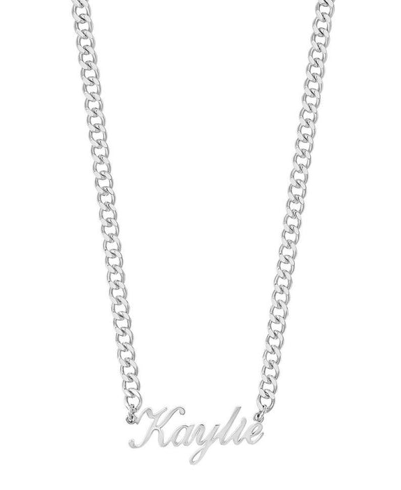 Mini Cuban Personalised Necklace