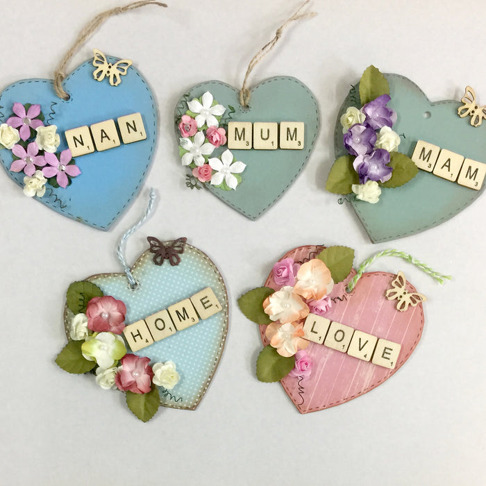 How to make Mother's Day hearts