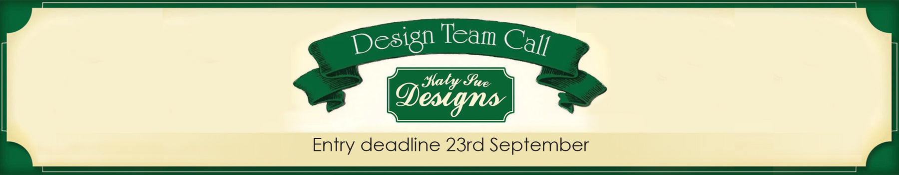 Apply to be a Katy Sue Design Team Member