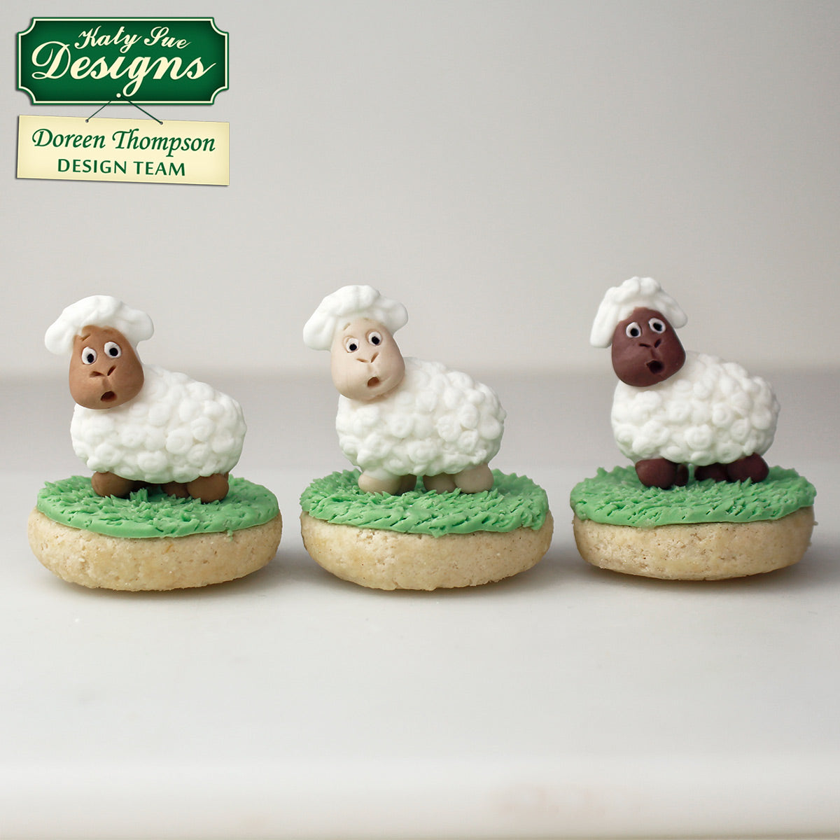 New Sugar Buttons Lamb Mould
