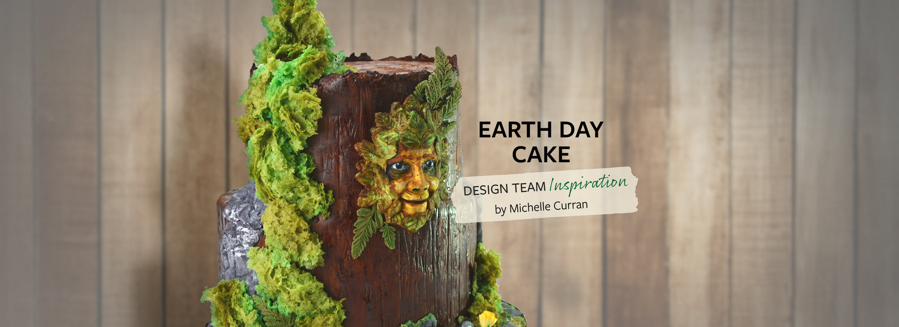 Earth Day Cake Decorating