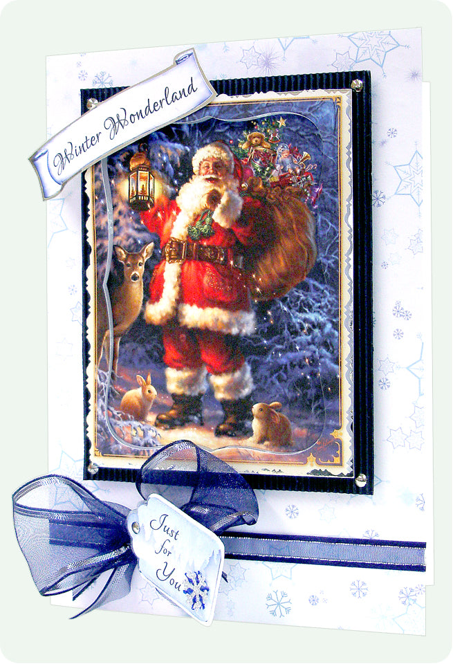 New Santa Card Toppers™