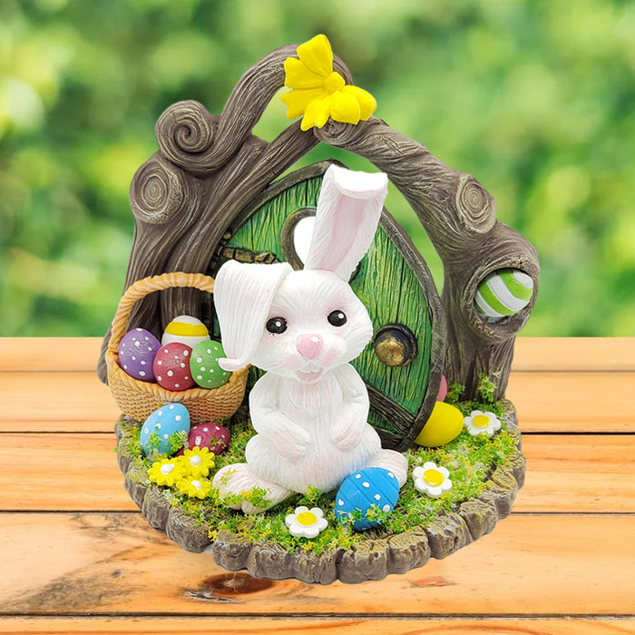 Learn how to make an Easter Bunny from clay