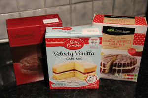 Packet Cake Mixes: What do you think?