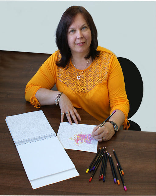 An Interview with Art Colouring Books Illustrator Sandra Rushton