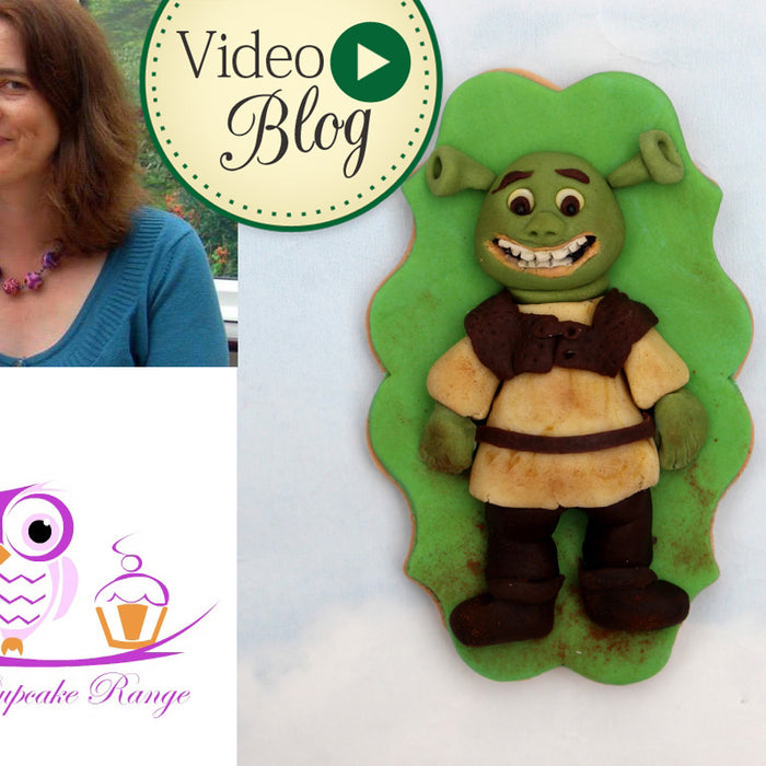 Shrek Cookie Video Tutorial by Sarah Harris