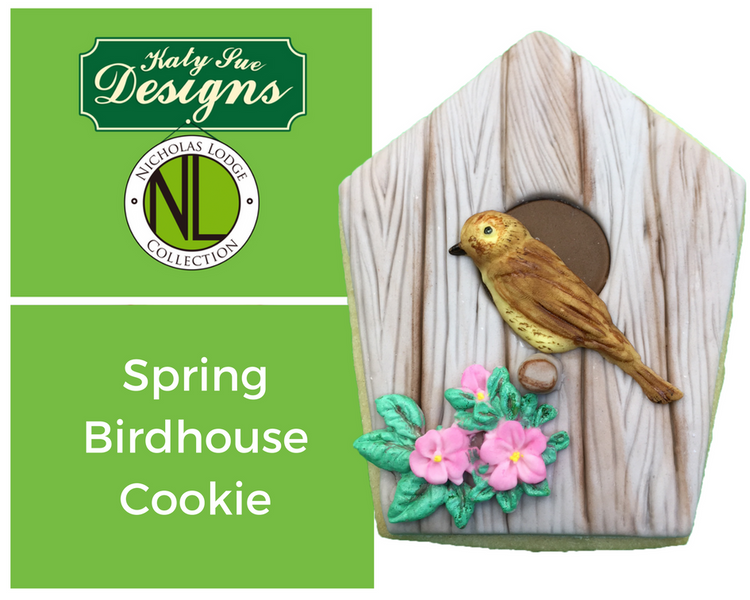 Create an Adorable Spring Birdhouse Cookie with Chef Nicholas Lodge