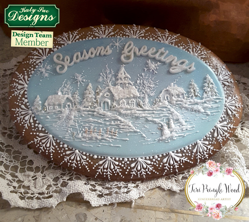 How to Make a Stunning Christmas Gift Cookie with Teri Pringle Wood