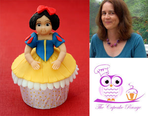 Princess Figure Cupcake Project by The Cupcake Range