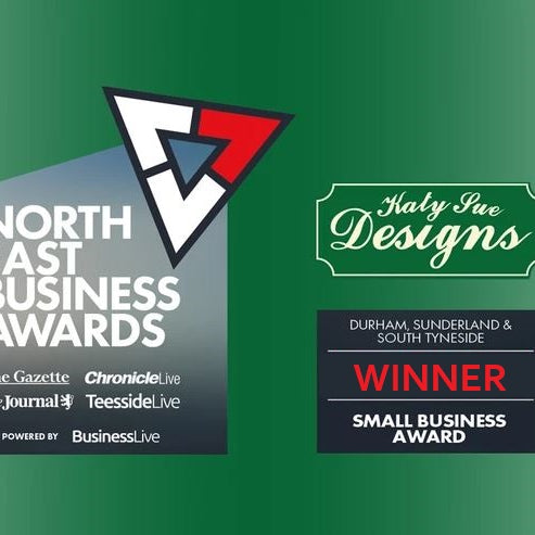 Katy Sue wins Small Business Award at North East Business Awards 2020