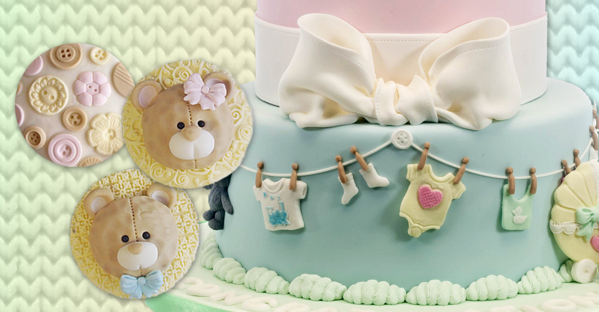 Baby Cake Decorating Moulds