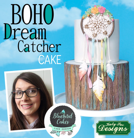 Boho Dream Catcher Cake by Bluebird Cakes