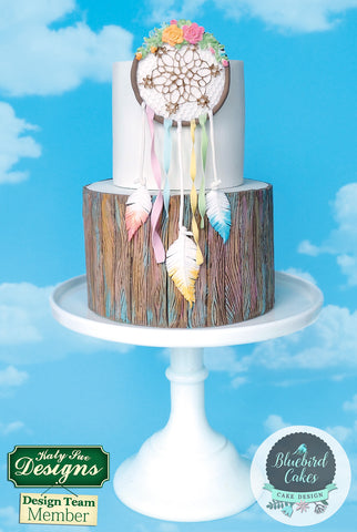 Boho Dream Catcher Cake by Zoe Smith from Bluebird Cakes
