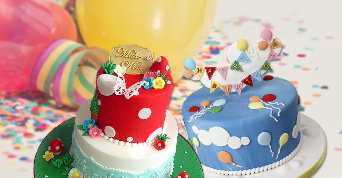 Birthday Cake Decorating Collection