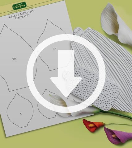 Flower Pro Calla / Arum Lily Template
