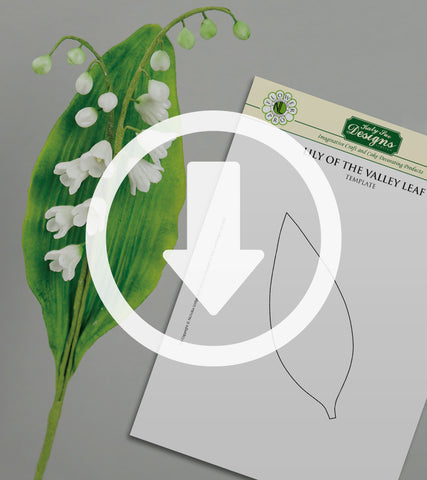 Flower Pro Lily Of The Valley Leaf Template