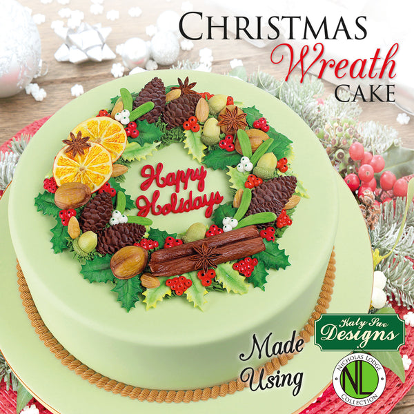 Nicholas Lodge Christmas Wreath Cake