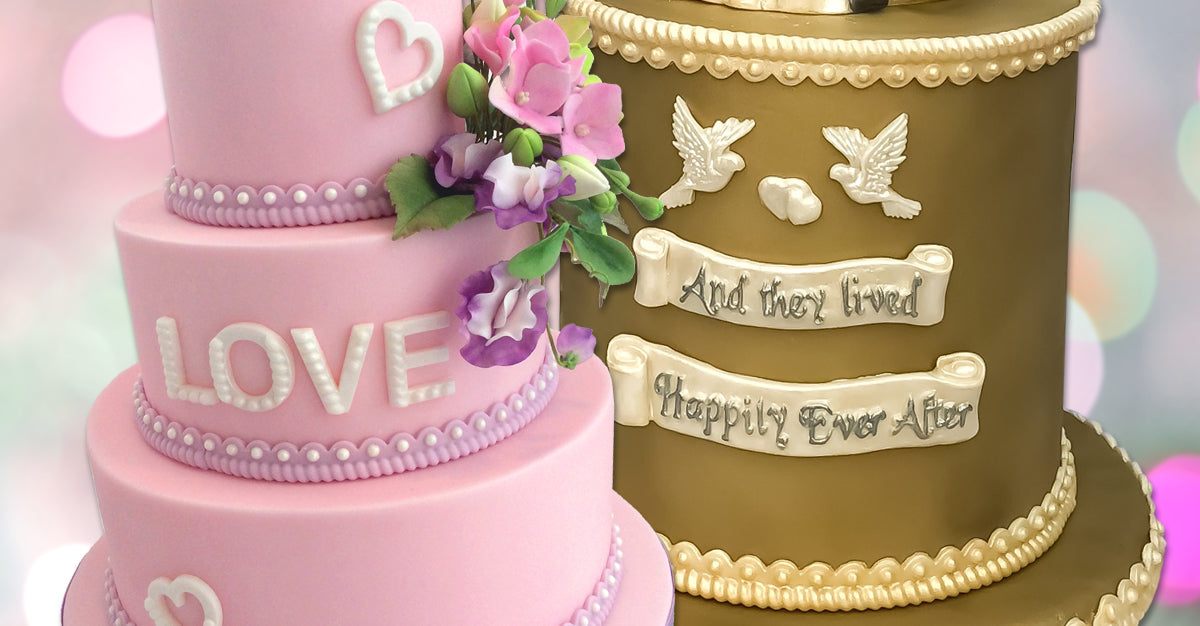 Wedding and Valentines Cake Decorating Moulds