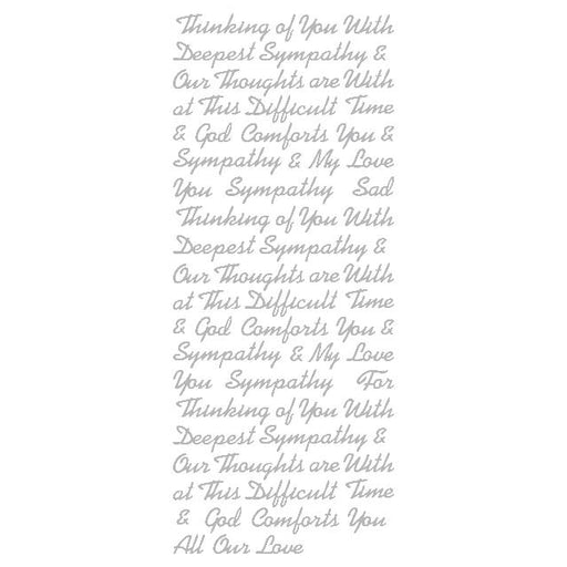 Mix Sympathy Words (S) Silver