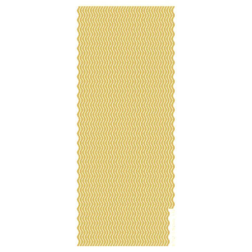 Wavy Border Lines  Gold