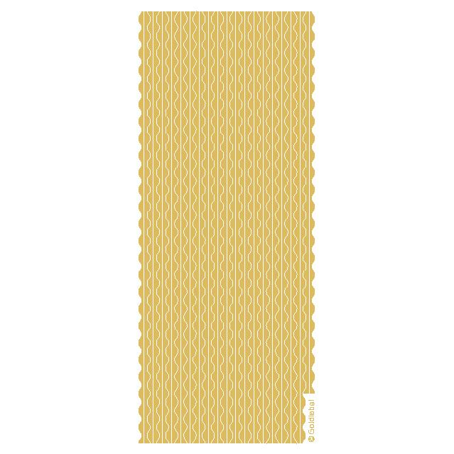 Deckled Border  Gold