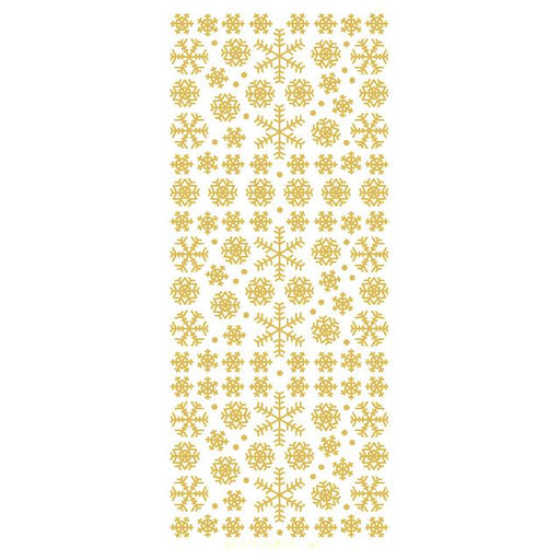 Mixed Snowflakes  Gold