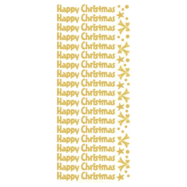 Happy Christmas  Gold
