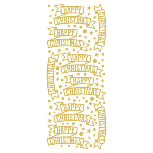 Christmas Banners  Gold