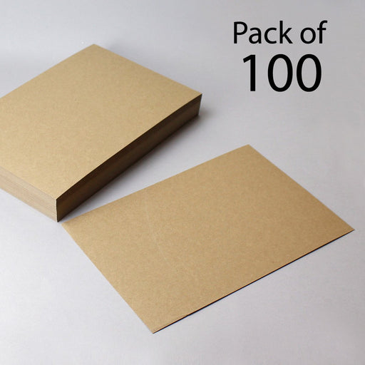 Brown Eco Flecked Kraft Card 280gsm A4 (Pack of 100)