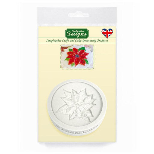 C&D - Poinsettia Topper Silicone Mold Pack Shot