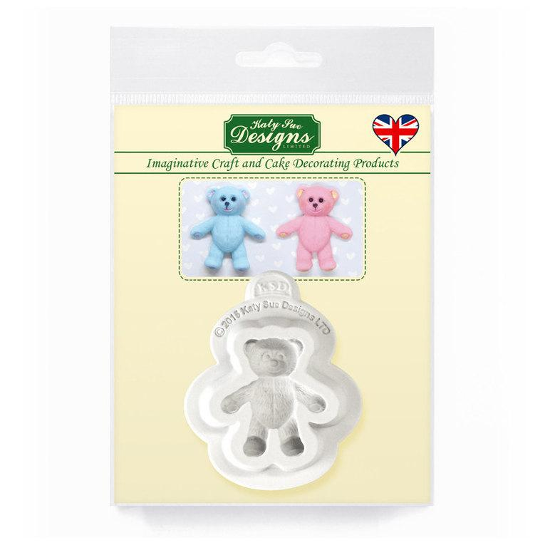 C&D - Baby Teddy Bear Silicone Mold Pack Shot