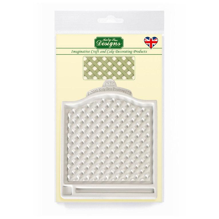 C&D - Trellis Fence Silicone Mold Pack Shot