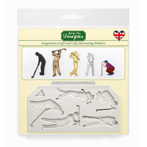 C&D - Golf Silhouettes Silicone Mould Packshot