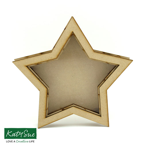 MDF Star Shadow Box Frame
