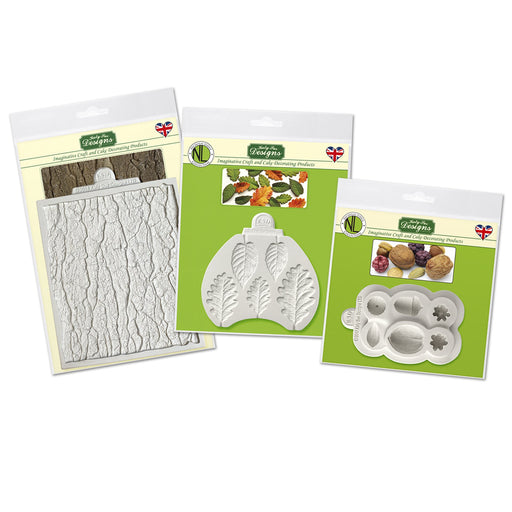 C&D - Bundle Woodland Deal Silicone Moulds