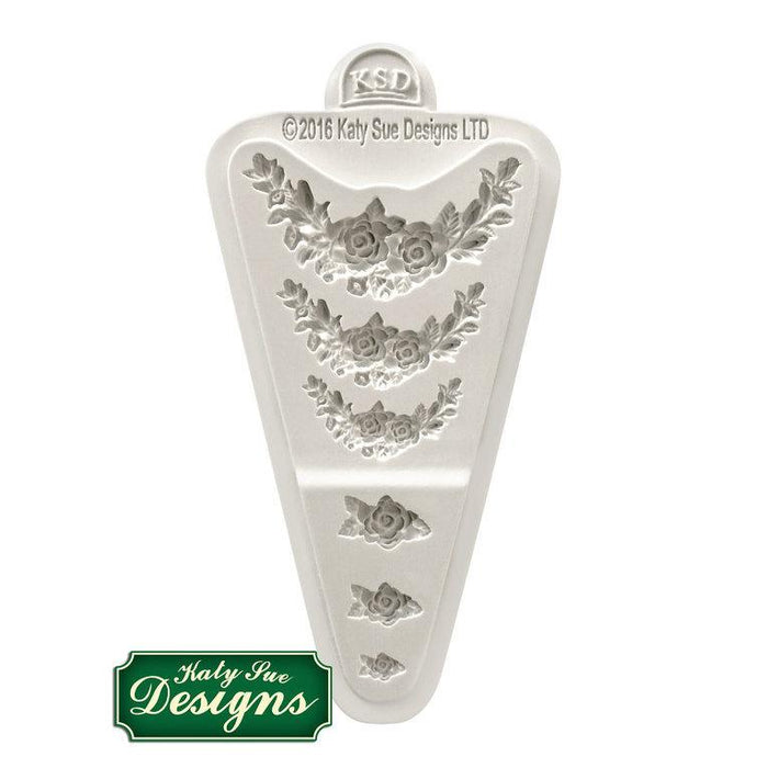 C&D - An idea using the Rose Medley Silicone Mould product