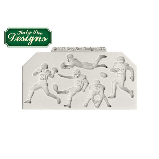 C&D - An idea using the American Football Silhouettes Silicone Mould product