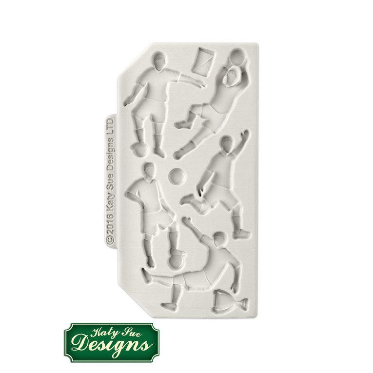 C&D - An idea using the Football Silhouettes Silicone Mould product