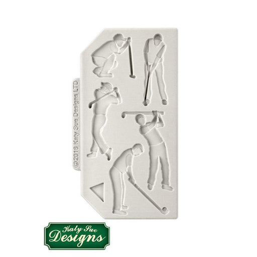 C&D - An idea using the Golf Silhouettes Silicone Mould product