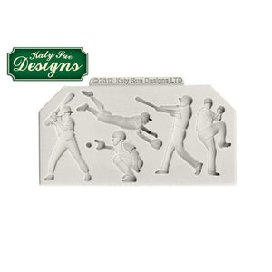 C&D - An idea using the Baseball Silhouettes Silicone Mould product