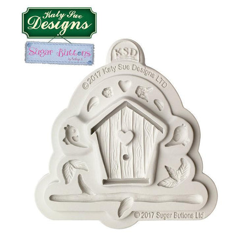 C&D - An idea using the Birdhouse Sugar Buttons Silicone Mould product