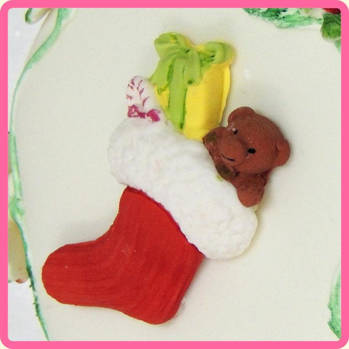 CD - An idea using the Christmas Stocking Silicone Mould product