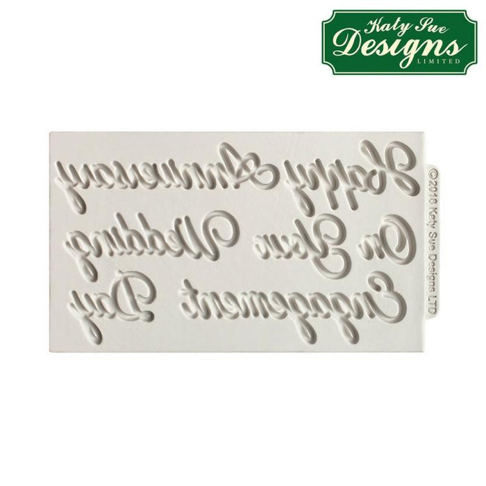 C&D - Word Perfect Wedding Mould