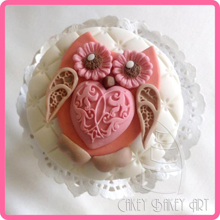 CD - An idea using the Elegant Hearts Silicone Mould product