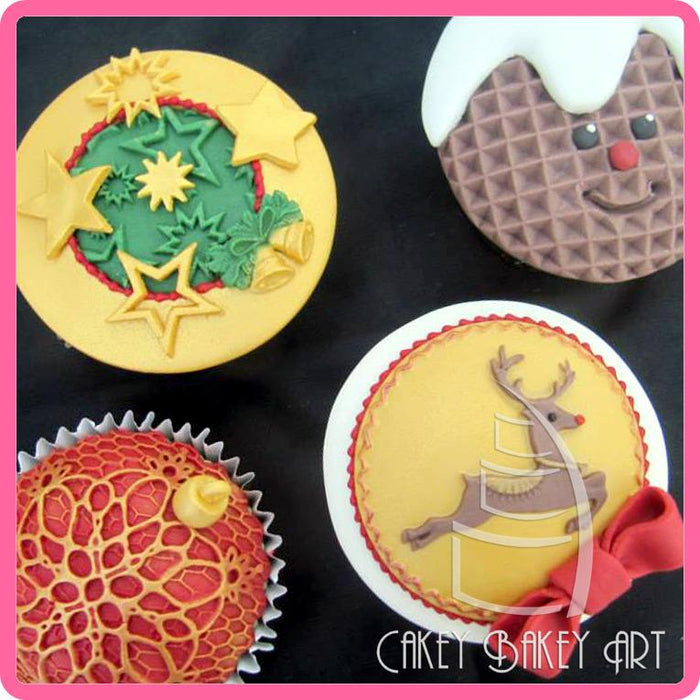 CD - An idea using the Starburst Silicone Mould product
