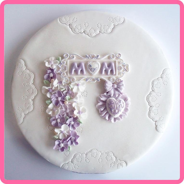 CD - An idea using the Rectangle Hearts Decorative Plaque Silicone Mould product