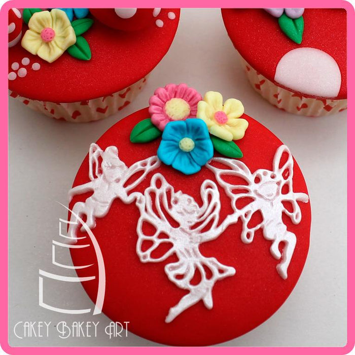 CD - An idea using the Fairy Border Silicone Mould product